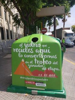 Campaña de reciclado en La Vuelta