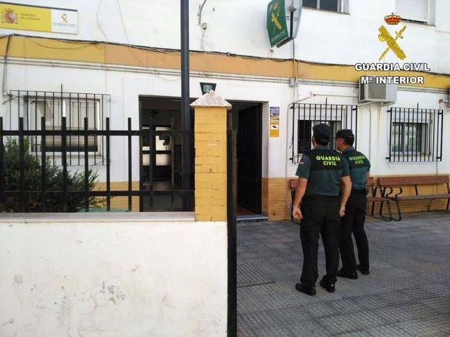 Cuartel de la Guardia Civil en Isla Cristina (Huelva).