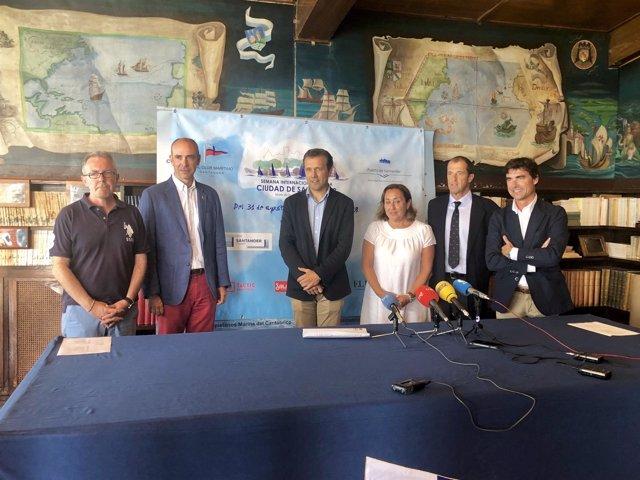 Presentación Semana Internacional Vela Santander