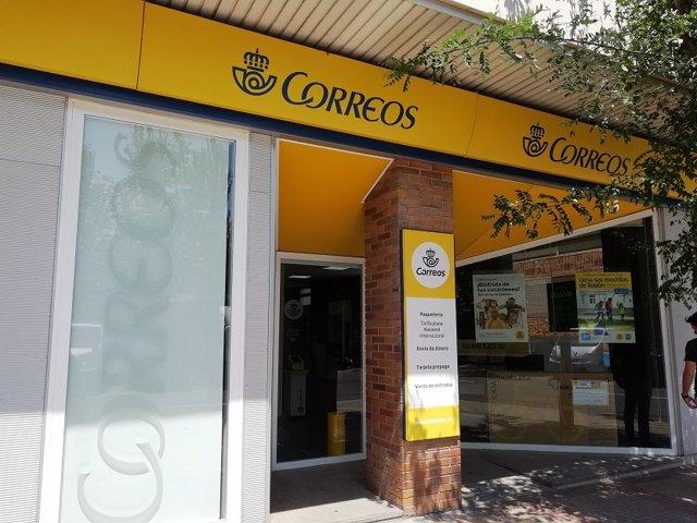 Correos calle Barrera