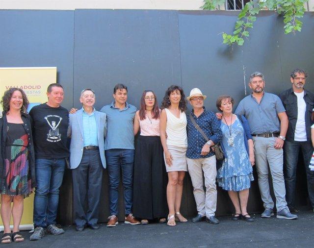 Presentación artistas locales Fiestas Valladolid  20-08-2018