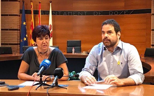 Saldoni (ACM) se reúne con la alcaldesa de Roses (Girona) para abordar el 'top manta'