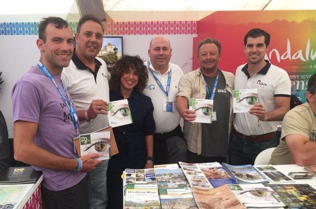Participación de Málaga en la Birdfair