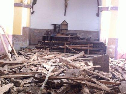 El Ayuntamiento abre expediente por el derrumbe en Santa María de Loriana