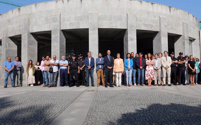 Galicia muestra su repulsa por el crimen machista de Cabana de Bergantiños