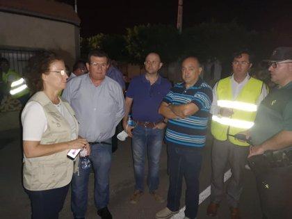 Guardia Civil abre investigación sobre el incendio en la planta de reciclaje de plásticos en El Ejido