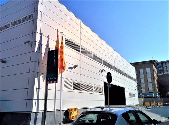 Comisaría de Mossos d'Esquadra en Cornellà de Llobregat (Barcelona)