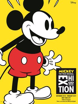 Poster Exposición Mickey Nueva York