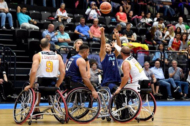 España cae con Argentina en el Mundial de baloncesto en silla de rueda