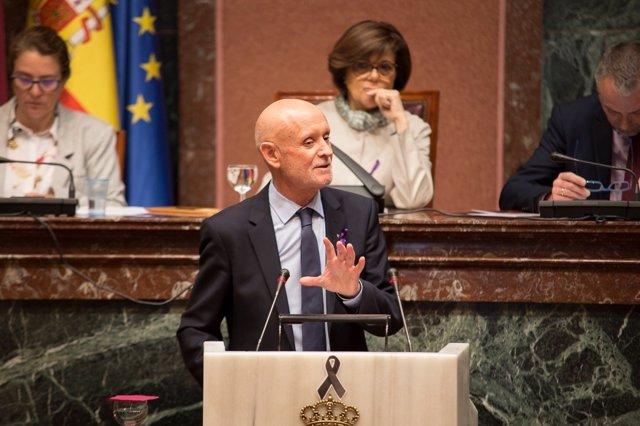 Diputado regional del PP, Domingo Coronado, en Asamblea