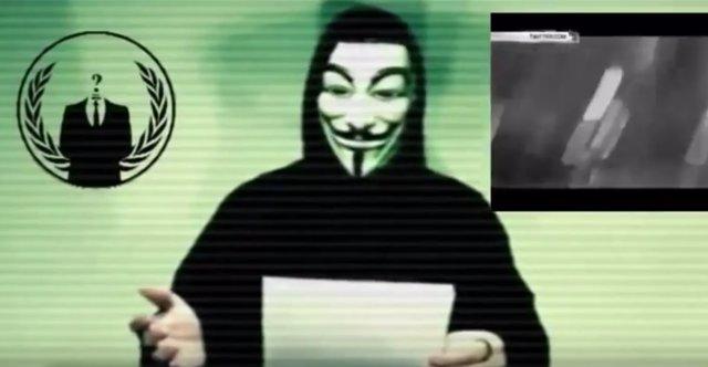 """Anonymous declara la """"guerra"""" al Estado Islámico (ISIS)"""