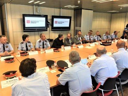 Comienza la reunión del Gabinete de Coordinación Antiterrorista con Quim Torra y Miquel Buch