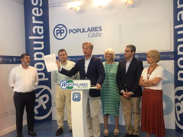 El secretario de Política Local del PP, Antonio González Terol
