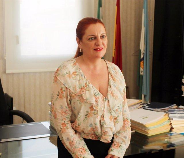 La alcaldesa de Salobreña, María Eugenia Rufino