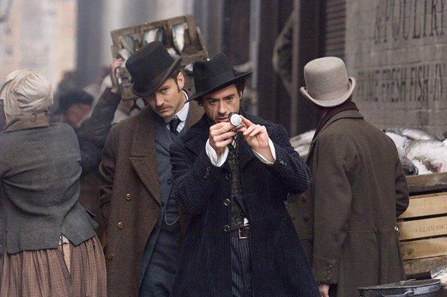 Robert Downey Jr. Y Jude Law en Sherlock Holmes