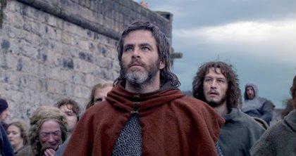 Tráiler de El rey proscrito: Chris Pine se pone en la piel del Rey de Escocia bajo la dirección de David Mackenzie