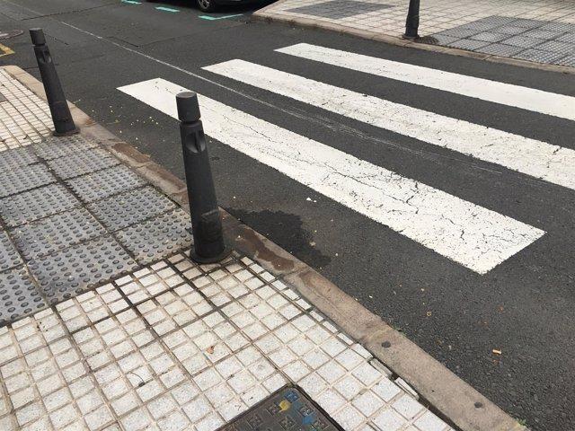 Calle sucia de Las Palmas de Gran Canaria