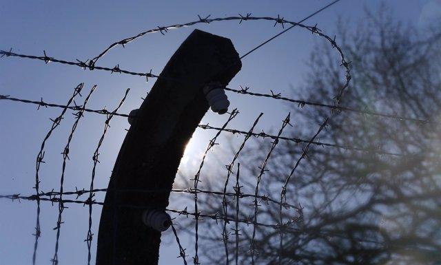 Valla en el campo de concentración de Buchenwald