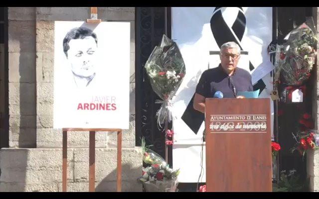 IU destaca la lucha contra 'la corrupción y el caciquismo' de Javier Ardines para hacer de Llanes 'un lugar mejor'