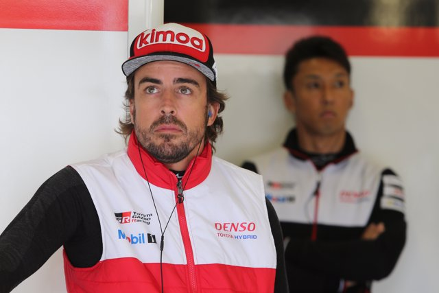 Fernando Alonso (Toyota GAZOO Racing), a Silverstone
