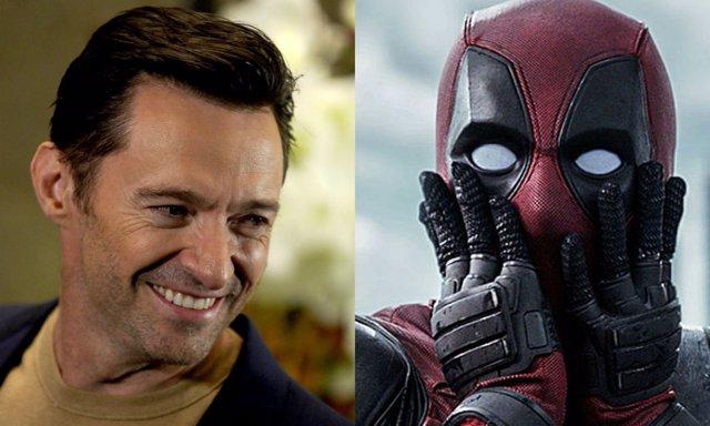Deadpool y Hugh Jackman