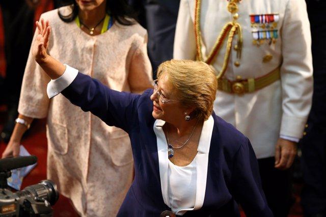 La expresidenta chilena, Michelle Bachelet