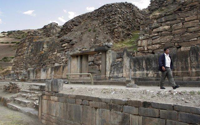 Pequeños robots propician uno de los hallazgos más importantes en el yacimiento arqueológico Chavín de Huántar