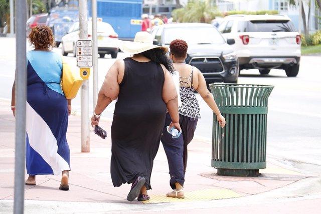 Personas con obesidad