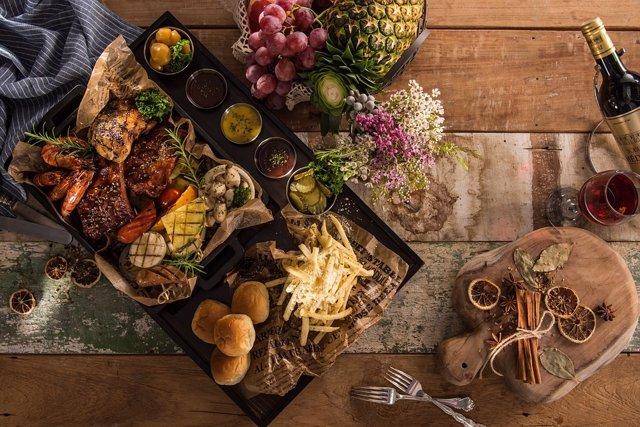 Comida, salud, alimentos, comida saludable, dieta y salud visual