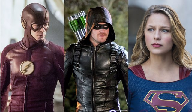 The Flash, Arrow, Supergirl