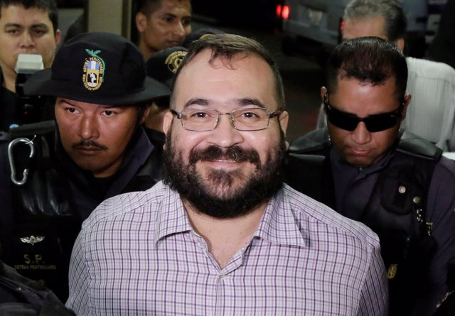 Exgobernador de Veracruz, Javier Duarte