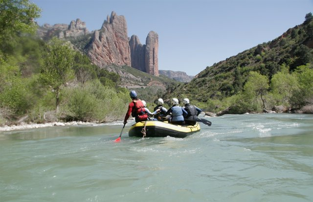 Rafting En El Río Gállego