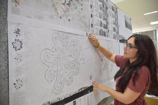 Ana Ruiz muestra su proyecto