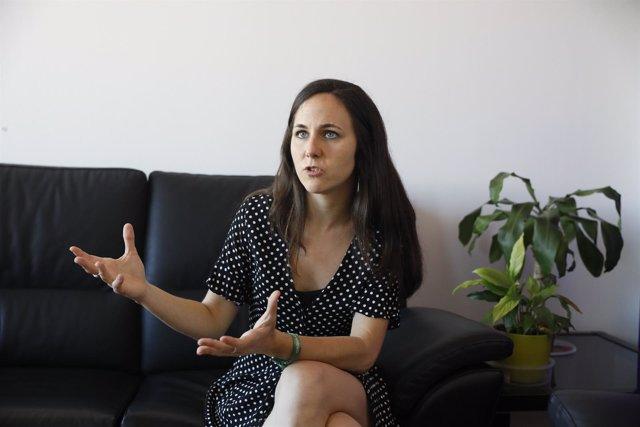 Entrevista de Europa Press a la portavoz adjunta de Unidos Podemos en el Congres