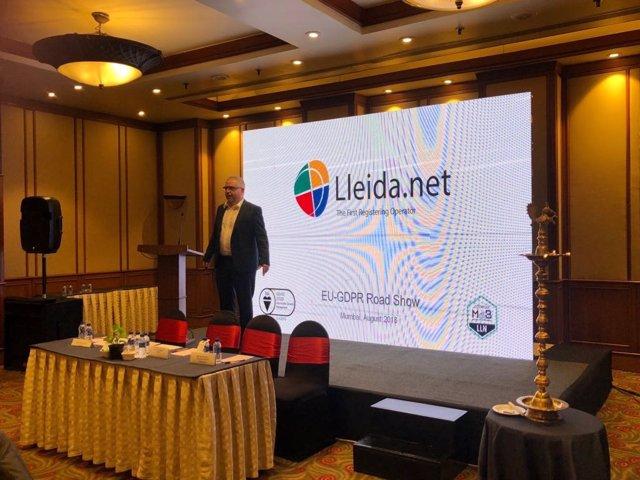 Conferencia de Lleida.Net en Bombay (India)