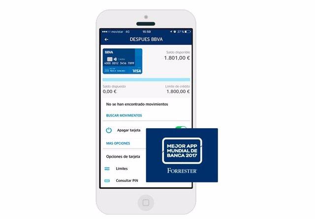 App móvil de BBVA