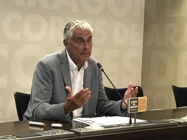 Antonio Suárez este jueves.