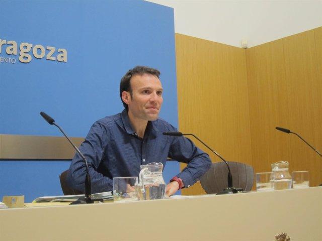 Pablo Muñoz, responsable de Urbanismo