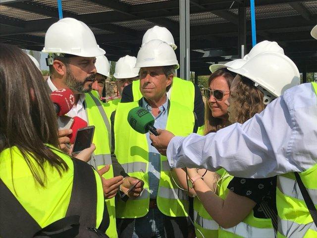 El vicepresidentre de la Comunidad de Madrid, Pedro Rollán, en Alcobendas