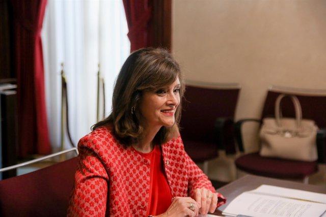 La secretaria de Estado de Seguridad, Ana Botella Gómez, preside la primera reun