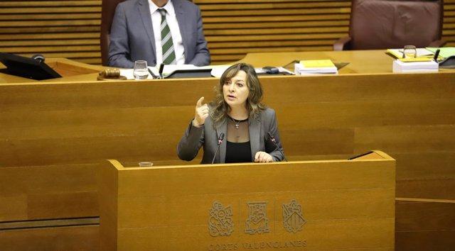 La diputada María José García (Cs) en imagen de archivo