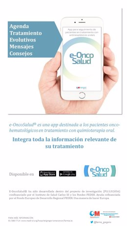 App para el seguimiento del paciente oncológico del Hospital Gregorio Marañón