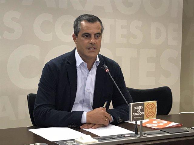 Javier Martínez este jueves.