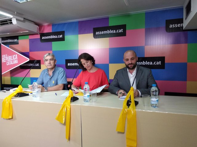 Josep Manel Ximenis, Elisenda Paluzie y Jordi Graupera