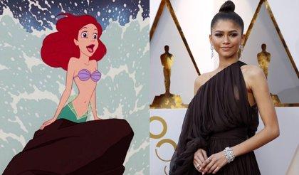 ¿Será Zendaya Ariel en el remake de acción real de La sirenita?