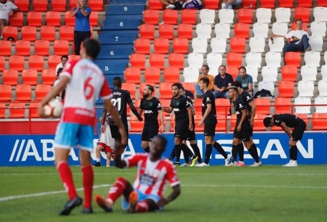 El Málaga derrota el Lugo en la primera jornada de LaLiga 1/2/3