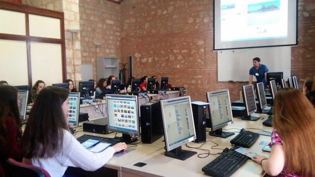 Una de las actividades  para jóvenes impulsadas por la Diputación de Jaén.