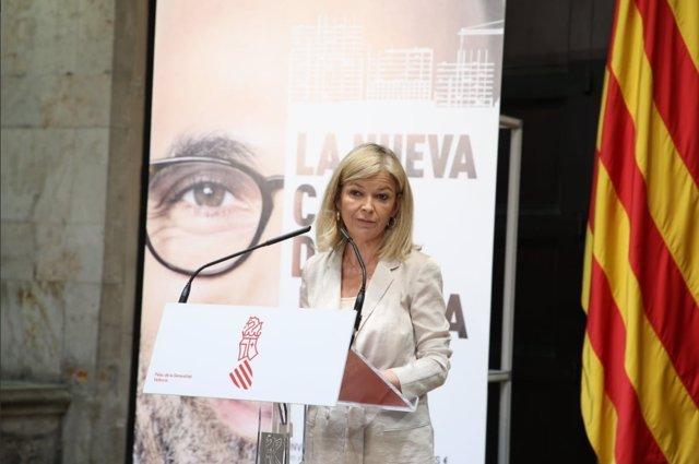 La consellera de Justicia, Gabriela Bravo (en imagen de archivo)