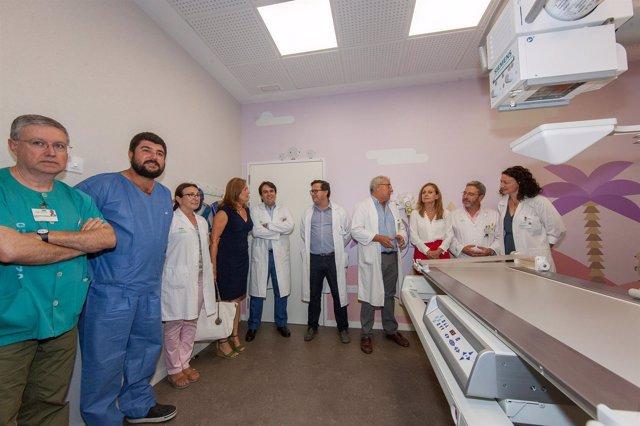 Visita de la consejera de Salud,  Marina Álvarez, al Hospital Virgen del Rocío