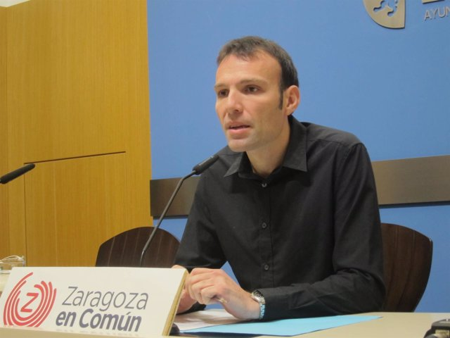 El concejal de ZEC Pablo Muñoz.